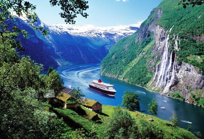 Фьорды в Норвегии 4