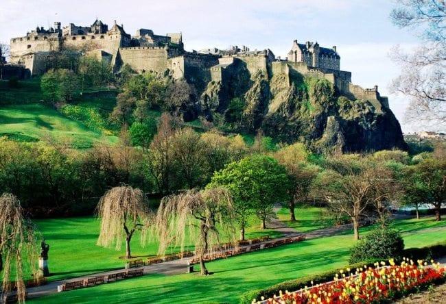Эдинбургский замок или ключ к Шотландии 4