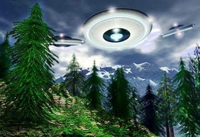 НЛО или явление природы в Хессдален 5