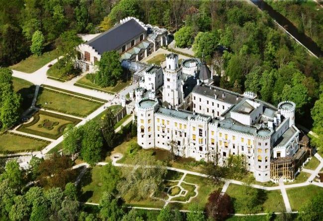 Орлиное гнездо Чехии – замок Глубока-над Влатовой