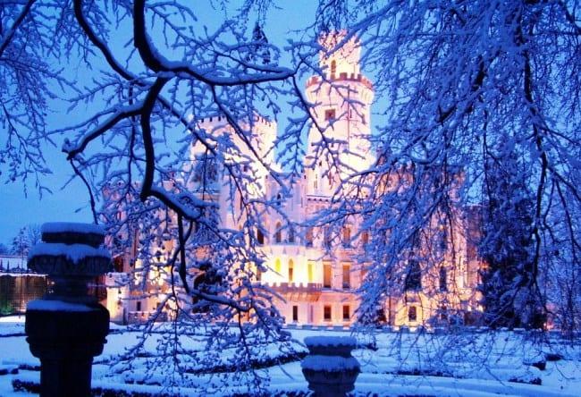 Орлиное гнездо Чехии  замок Глубока-над Влатовой 4
