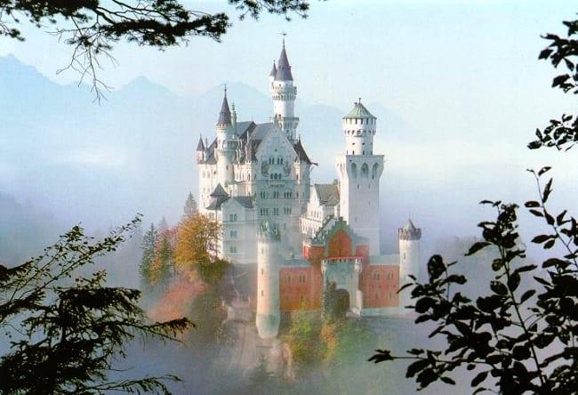 Чудо архитектуры  замок Нойшванштайн 2