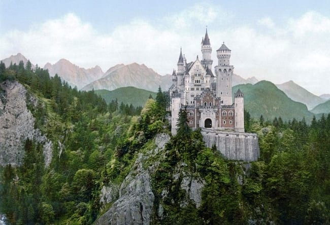 Чудо архитектуры  замок Нойшванштайн 4