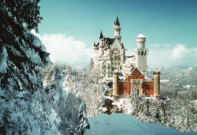 Чудо архитектуры  замок Нойшванштайн 5