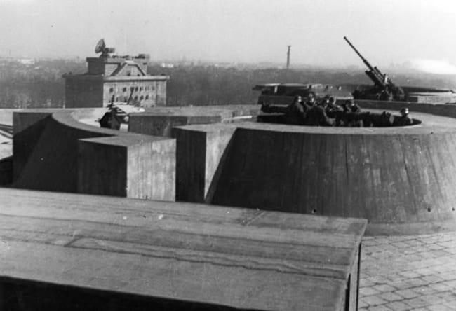 Зенитные башни Второй мировой 5