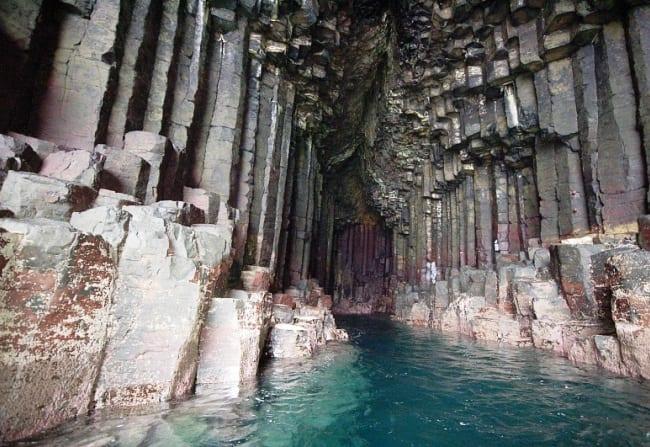 Фингалова Пещера на острове Стафф 5