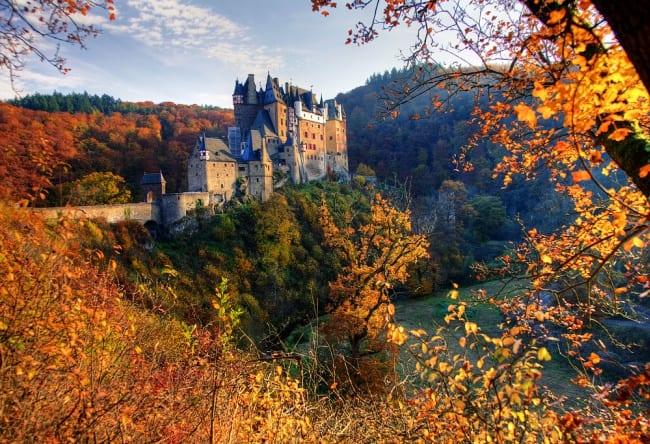 Самый посещаемый замок Германии 2
