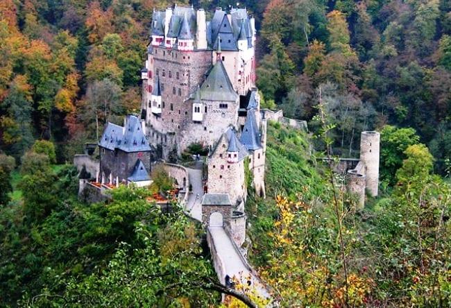 Самый посещаемый замок Германии 5
