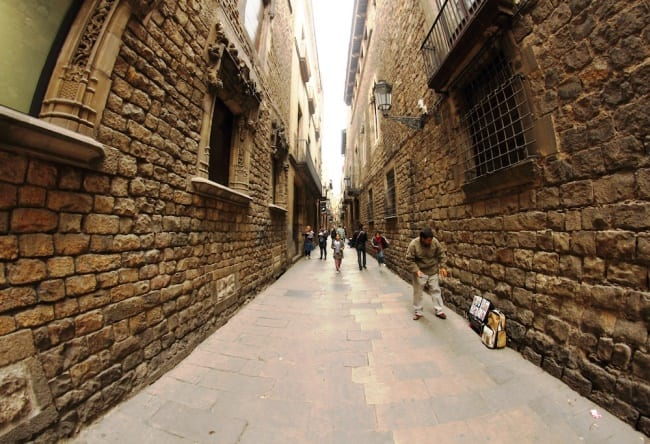 Барселона, исторический центр города