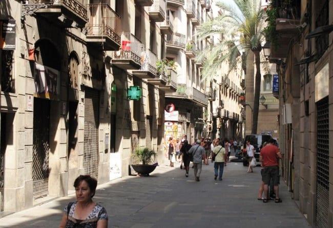 Барселона исторический центр города 4