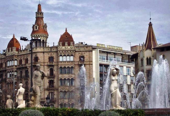 Барселона исторический центр города 5