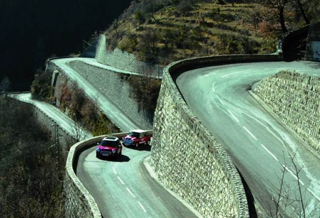 Highway Col de Turini is the drayverskogo road in the world 2