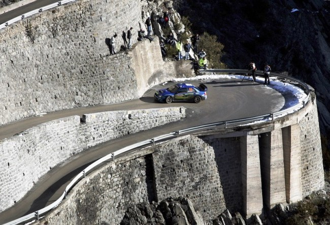Highway Col de Turini is the drayverskogo road in the world 4