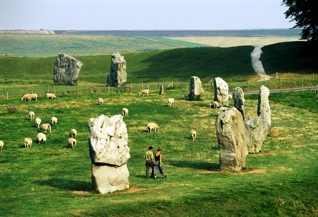 Megalithic complex in the north of Avebury Wiltshire 5