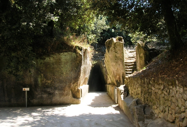 Sybils Cave is a home of priestess of Apollo 4