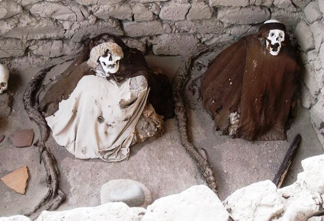 City skeletons or necropolis Chowchilla 5