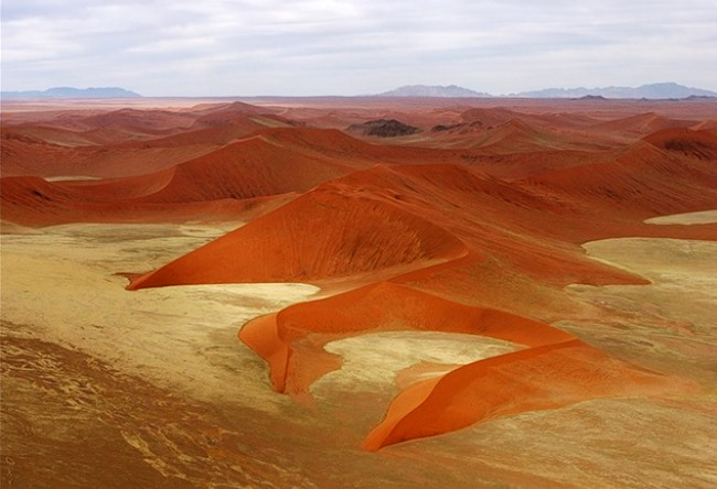 Namib is a desert elephants and fog 2