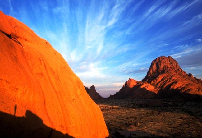 Namib is a desert elephants and fog 5