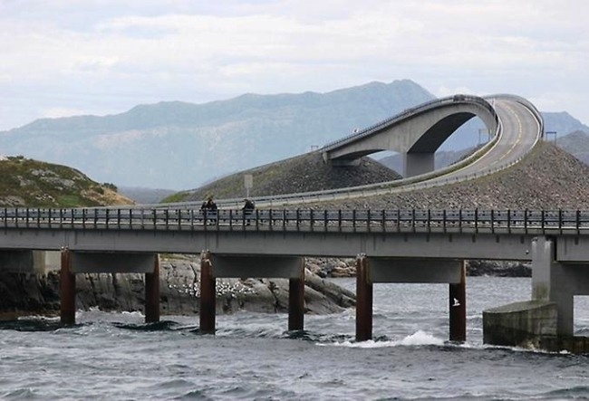 Bridge to Nowhere or surprise Atlantic Road 2