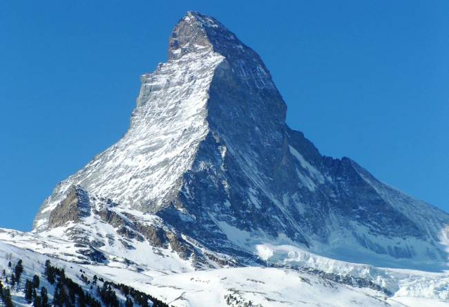 Mount Matterhorn is an obey pyramid 2
