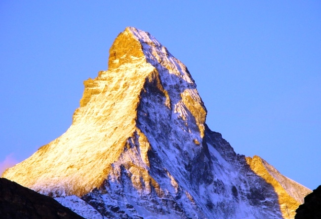 Mount Matterhorn is an obey pyramid 5