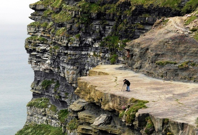 The main attraction of Ireland Cliffs of Moher 2