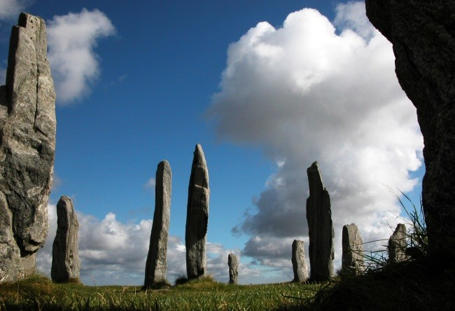 Cult place Scotland Calanais 3