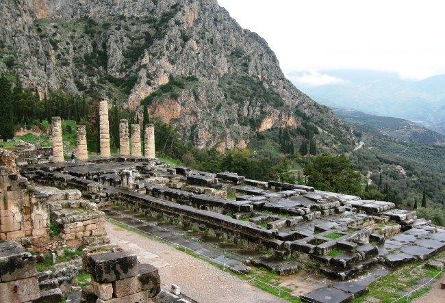 Centre of Greece Delphi 2