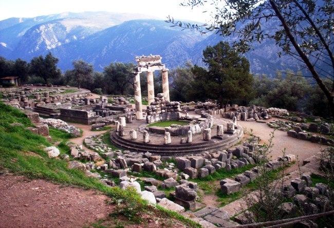Centre of Greece Delphi 3