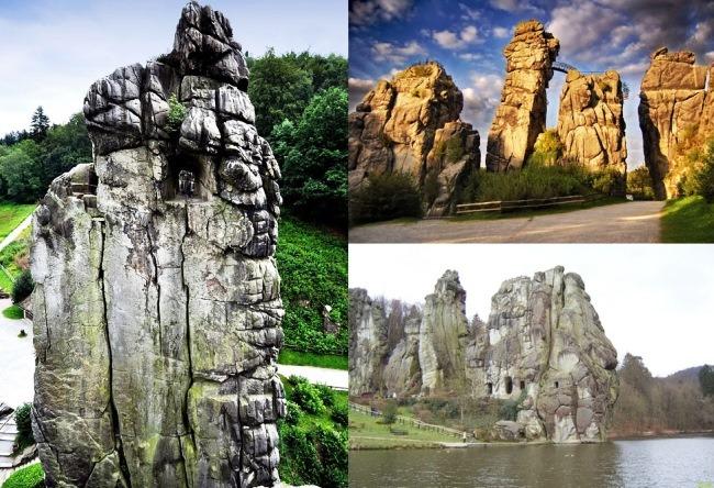 German Stonehenge Externsteine 2