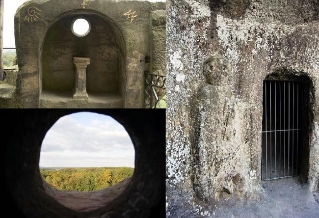 German Stonehenge Externsteine 4