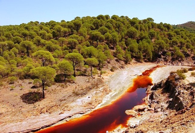 Red River Rio Tinto in Andalusia 5
