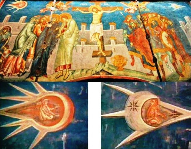 Spaceships on the cross or the Miracle in Decani 2