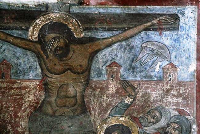 Spaceships on the cross or the Miracle in Decani 3