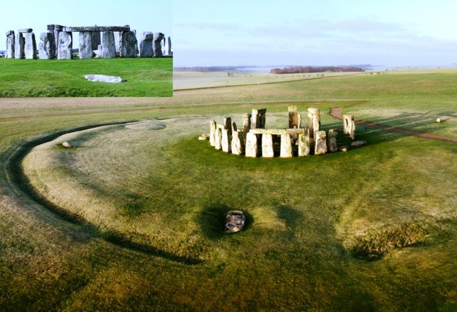 Stonehenge in Salisbury yes the same 3