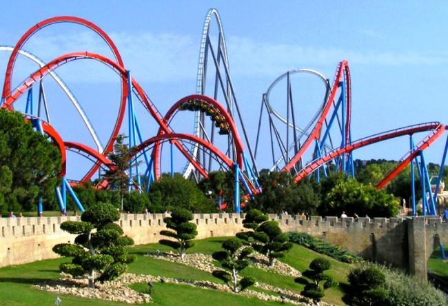 Port Aventura theme park 5