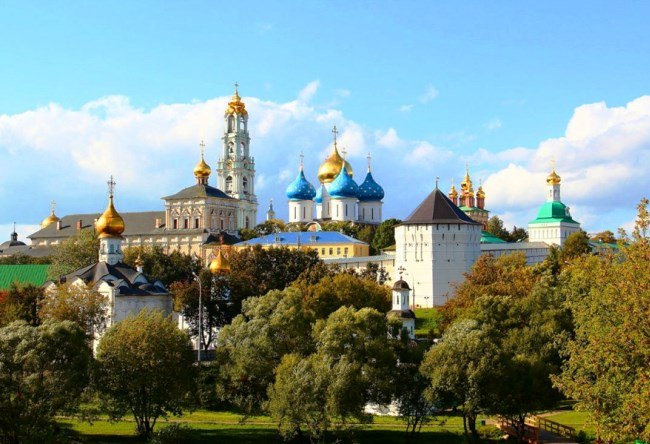 Sergiev Posad Russias Golden Ring 2