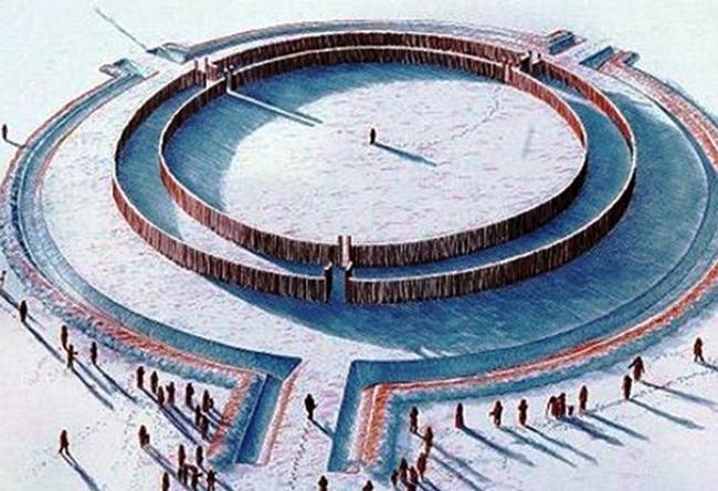 Goseck circle 3
