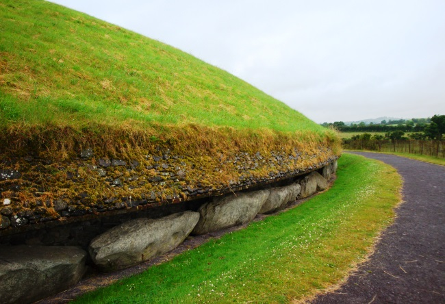 Ireland the ancient Newgrange 5