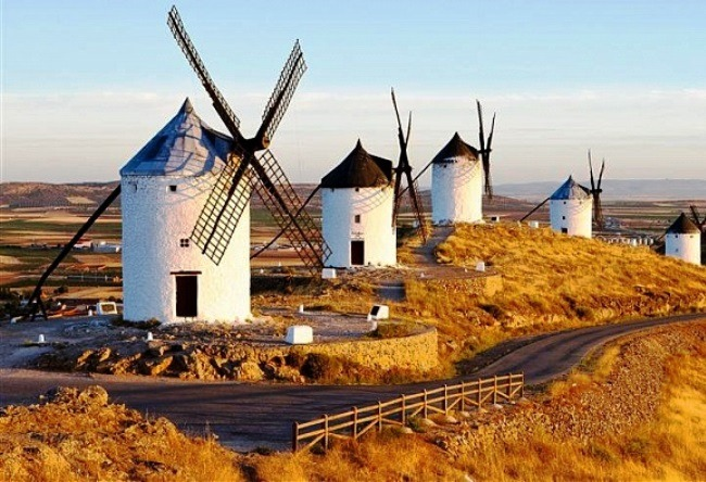 Windmills of Don Quixote 4