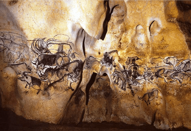 Chauvet cave  more than thirty thousand years old 3