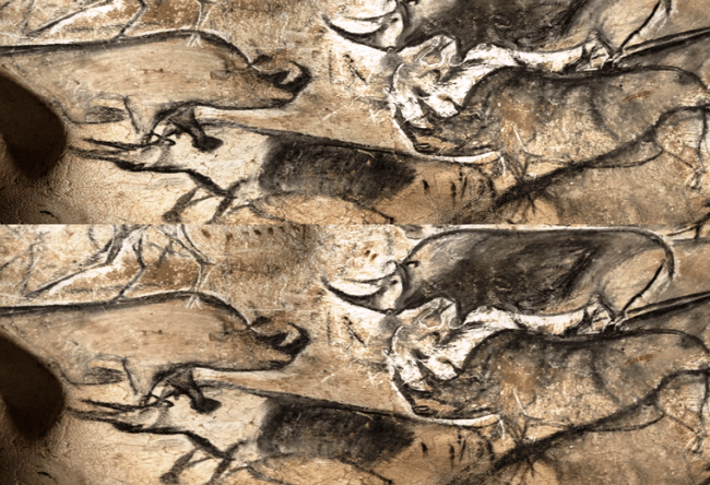 Chauvet cave  more than thirty thousand years old 5