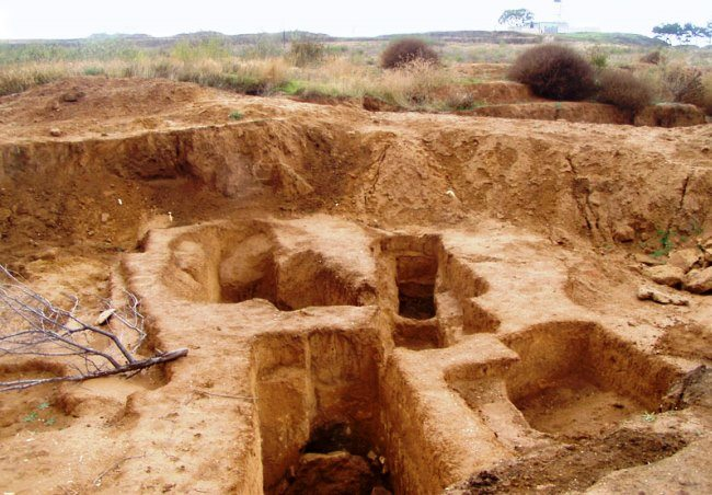 Cape Lukull Ust-Alma necropolis 2