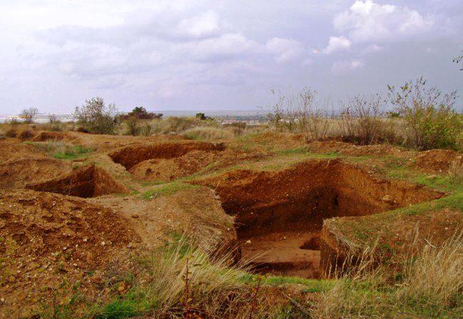 Cape Lukull Ust-Alma necropolis 4