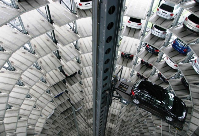 The Autostadt Car Towers and Museum in Germany 3