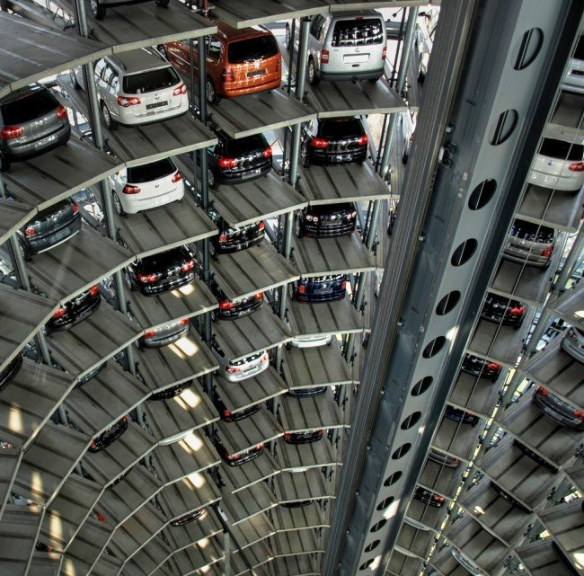 The Autostadt Car Towers and Museum in Germany 4
