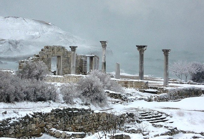 The ancient city of Chersonese 5