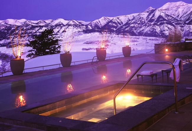 Топ-10 прекрасных зимних бассейнов 10