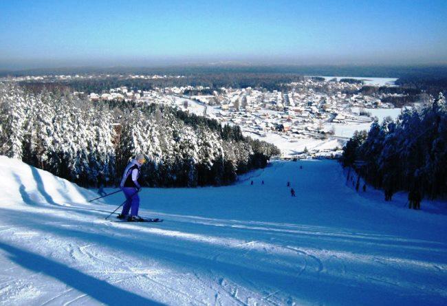 Топ-10 лучшие горнолыжные курорты в РФ 9