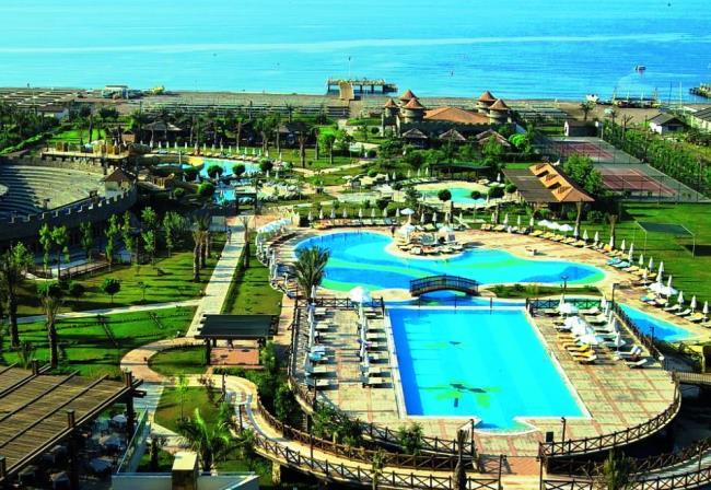 Топ-10 лучших отелей Турции с аквапарками 4
